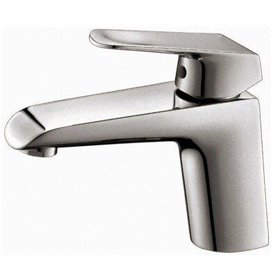 Basin Single Hole Single Handle Bathroom Faucet Finish: Brush Nickel