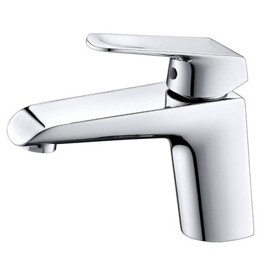 Basin Single Hole Single Handle Bathroom Faucet Finish: Chrome