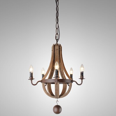Brooklandville 5-Light Candle-Style Chandelier