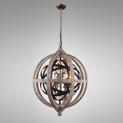 Vincent 4-Light Globe Pendant