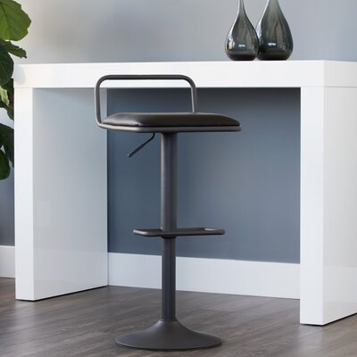 Urban Unity Burke Adjustable Height Swivel Bar Stool