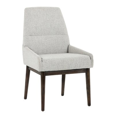 5west Lucas Upholstered Dining Chair Upholstery: Marble