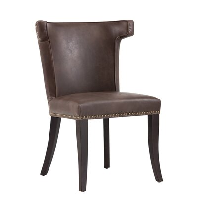 5West Murry Upholstered Dining Chair Upholstery: Brown