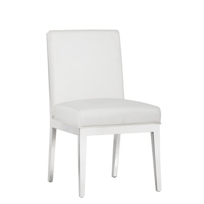 Ikon Sofia Upholstered Dining Chair (Set of 2) Upholstery: White