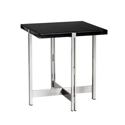Ikon End Table Table Top Color: Black