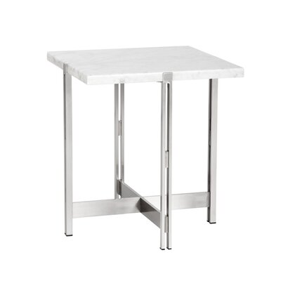 Ikon End Table Table Top Color: White