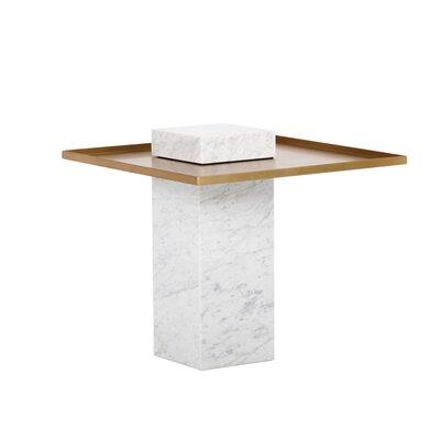 Ikon End Table Table Base Color: White