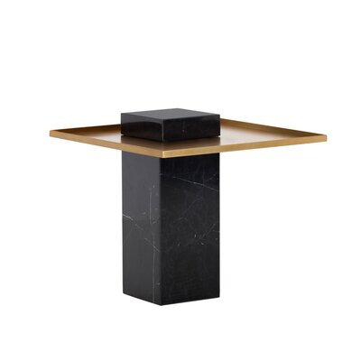 Ikon End Table Table Base Color: Black