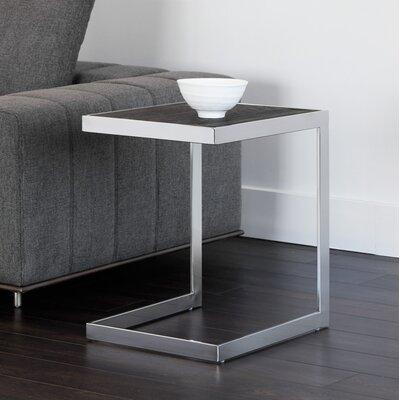 Sedona End Table Table Base Color : Silver