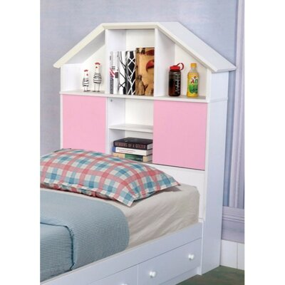 Anette Twin Bookcase Headboard