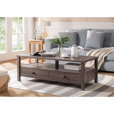 Walkowiak Attractive Coffee Table Color: Gray
