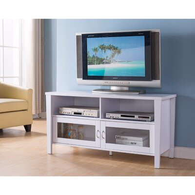 Voyles 47 TV Stand Color: White
