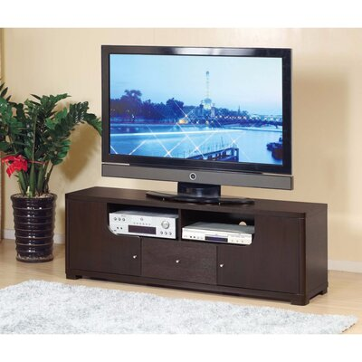 Walburg Modern Style 60 TV Stand Color: Dark Brown