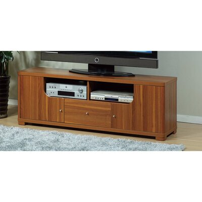 Walburg Modern Style 60 TV Stand Color: Light Brown