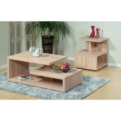 Bush Modern Design 2 Piece Coffee Table Set