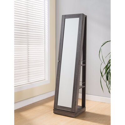 Ivey Jewelry Armoire with Mirror