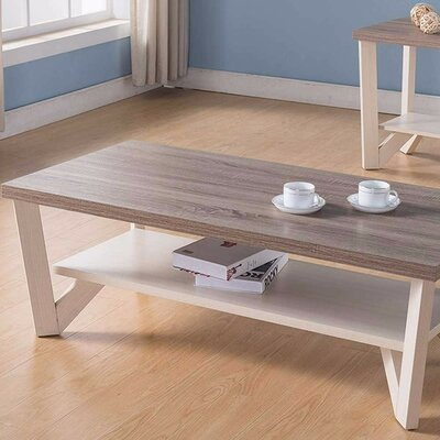 Ald Stylish Center Display Coffee Table with Storage