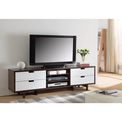 Janke Sophisticatedly Designed 70 TV Stand Width of TV Stand: 70.75