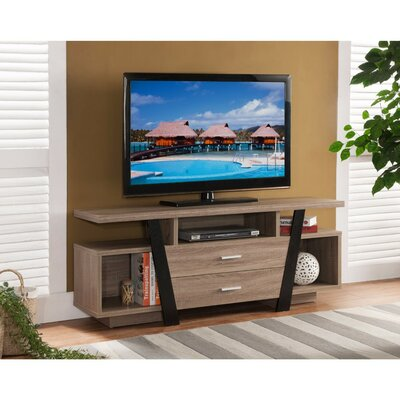 Bustamante Well Designed Modern Style 47-60 TV Stand Width of TV Stand: 60