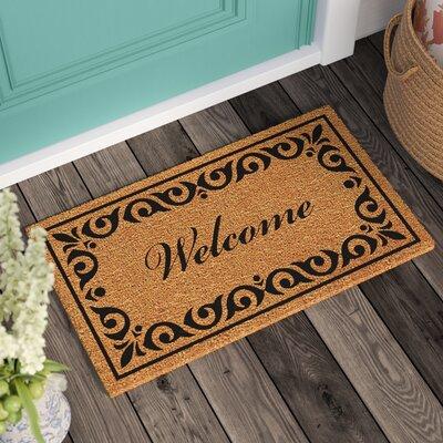Lindemann Welcome Doormat Mat Size: Rectangle 15 x 25