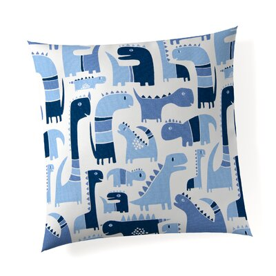 Alderman Dino Linen Throw Pillow