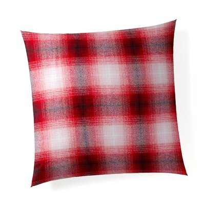 Deerfield Plaid Linen Throw Pillow