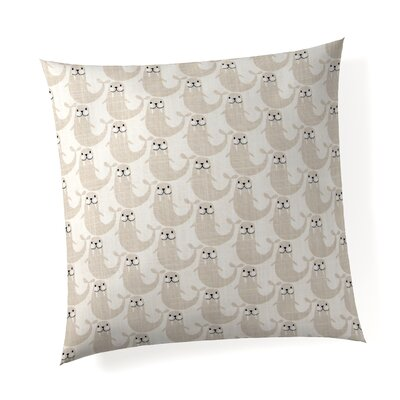 Westland Walrus Linen Throw Pillow