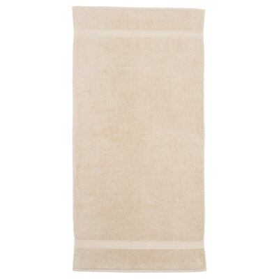 Toscano 100% Turkish Cotton Bath Towel Color: Beige