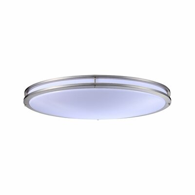 Tourville 1-Light LED Flush Mount Color Temperature: 3000K