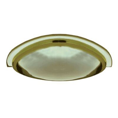 """Cast Metal Traditional 3"""" Center Cup Pull Finish: Polished Brass 53.30343.06"""