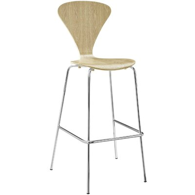 Pyburn 31 Bar Stool Color: Natural
