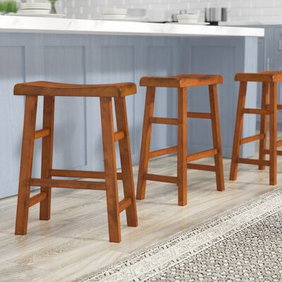 Lincolnwood 24 Bar Stool Finish: Dark Oak
