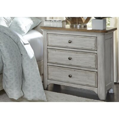 Clairmont 3 Drawer Night Stand