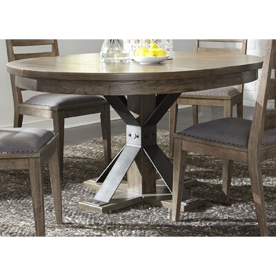Cleaver Oval Pedestal Dining Table