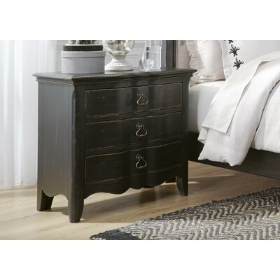 Claybrooks 3 Drawer Night Stand