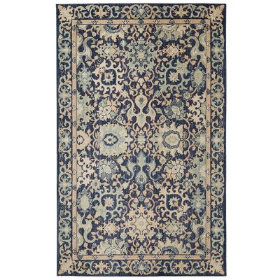 Meagan Blue Area Rug Rug Size: Rectangle 76 x 10