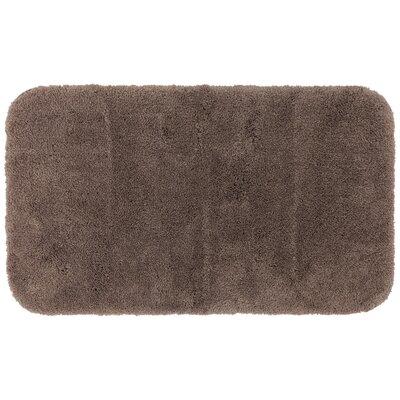Gahagan Bath Rug Size: 24 W x 40 L, Color: Brown