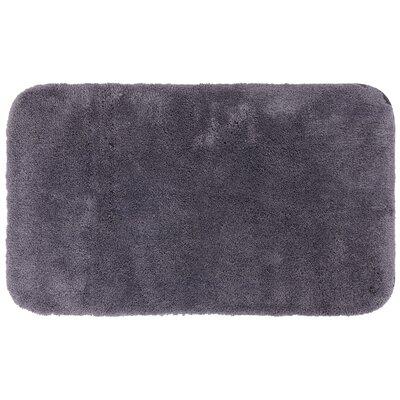 Gahagan Bath Rug Size: 17 W x 24 L, Color: Gray