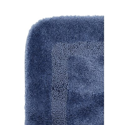 Carlino Bath Rug Size: 20 W x 34 L, Color: French Blue