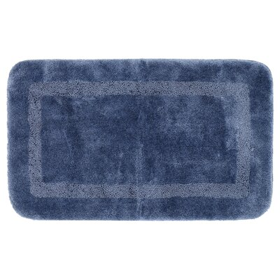 Carlino Bath Rug Size: 24 W x 40 L, Color: Blue