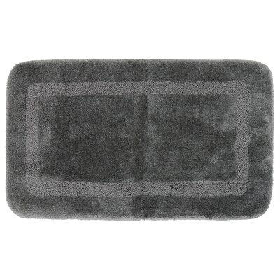 Carlino Bath Rug Size: 24 W x 40 L, Color: Gray