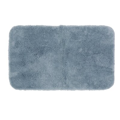 Gahagan Bath Rug Size: 24 W x 40 L, Color: Diamond Blue