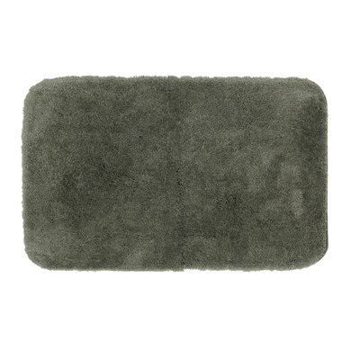 Gahagan Bath Rug Size: 21 W x 34 L, Color: Ivy Green