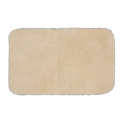 Gahagan Bath Rug Size: 17 W x 24 L, Color: Tan