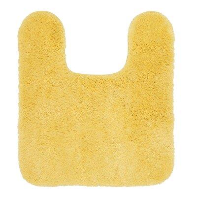 Galena Contour Mat Size: 24 W x 40 L, Color: Yellow