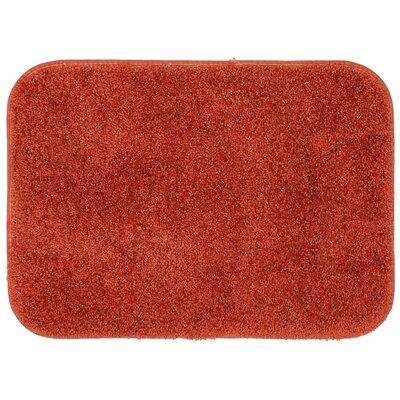 Gahagan Bath Rug Size: 24 W x 40 L, Color: Apricot