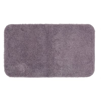Gahagan Bath Rug Size: 20 W x 34 L, Color: Purple Ash
