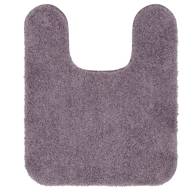 Galena Contour Mat Size: 20 W x 24 L, Color: Purple Ash