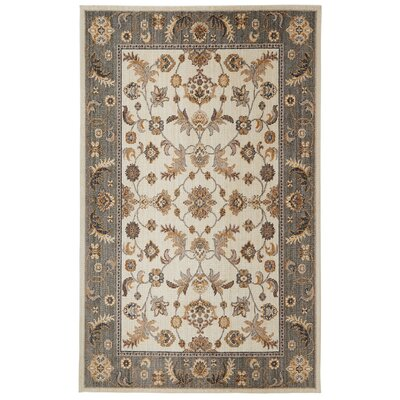Baulkham Beige Area Rug Rug Size: Rectangle 5 x 8