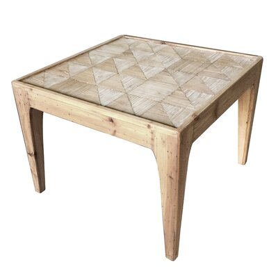 Carlucci Checkered End Table